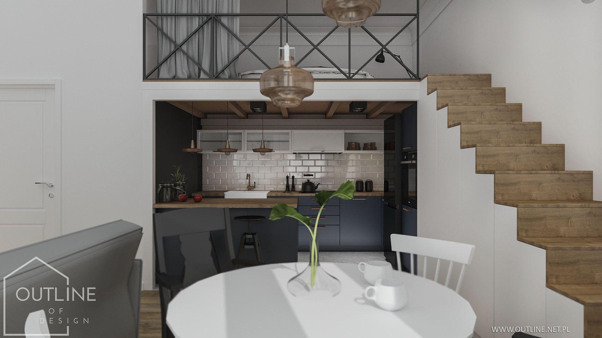 Kuchnia Pod Antresola Home Deco Home Decor House