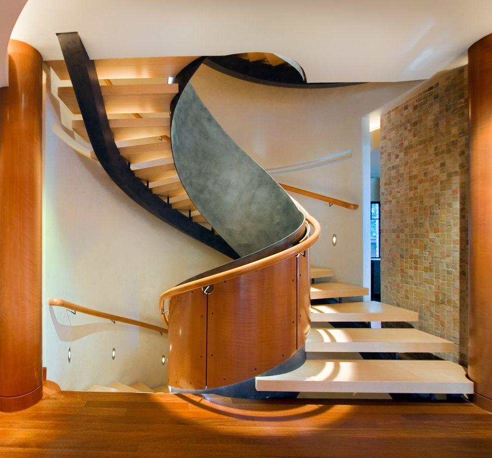 Genial Safe Modern Spiral Staircase
