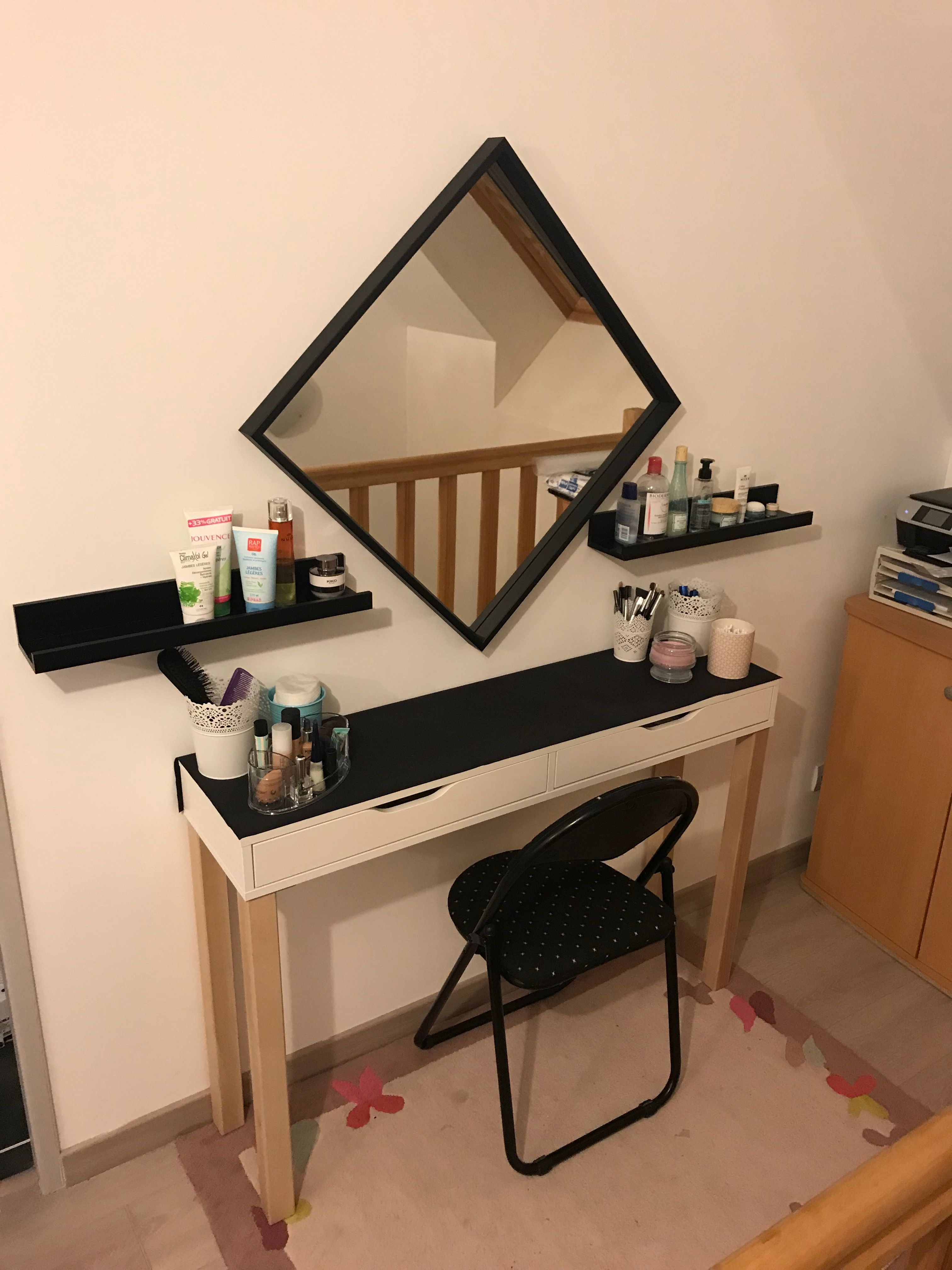 Coiffeuse Ikea Stunning Tabouret With Coiffeuse Ikea