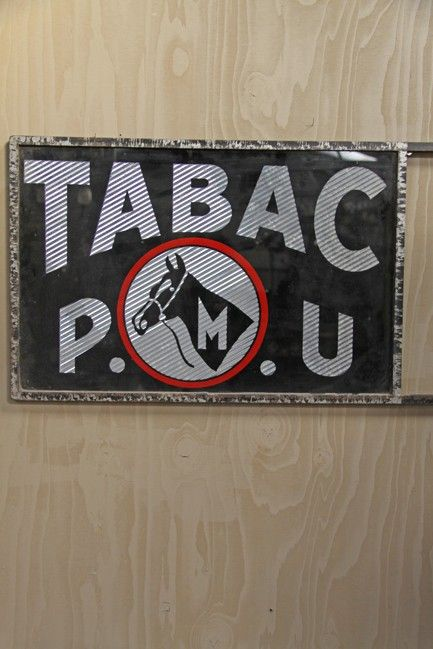 TABAC sign - The French House