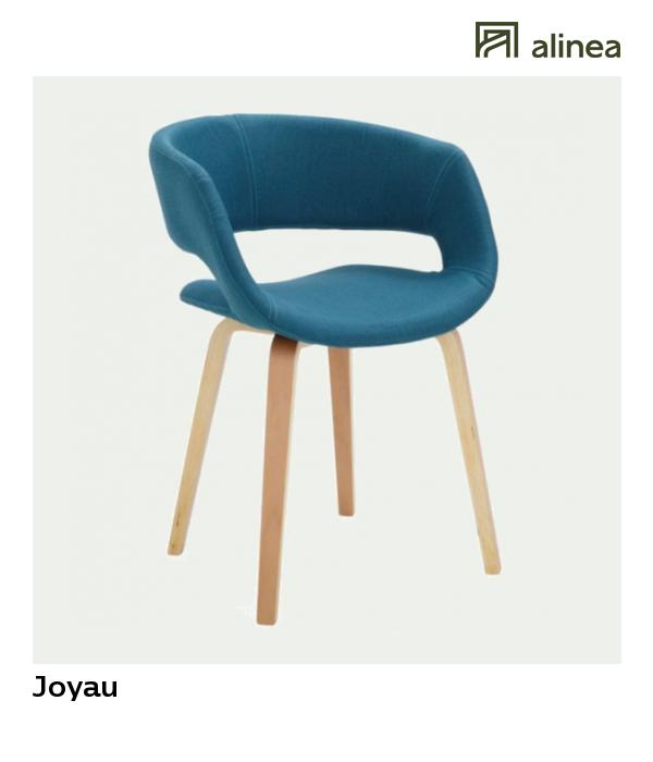 alinea joyau chaise avec accoudoirs