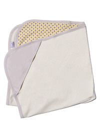 Organic baby blanket. For each item purchased, Endue will feed a child.