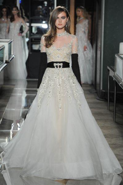 vestidos de novia reem acra 2018: auténticas joyas para tu gran día