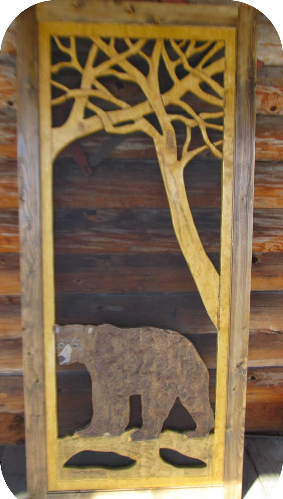 Screen Door For The Mountain Cabin By North Country Rusticslove