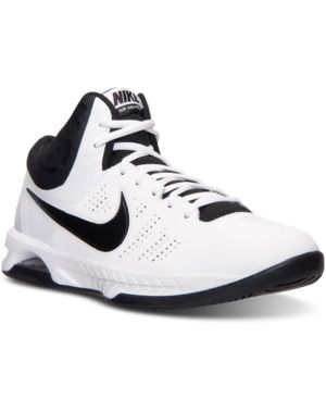 9d3fb8383ae7 Nike Men s Air Visi Pro Vi Basketball Sneakers from Finish Line - White 11.5