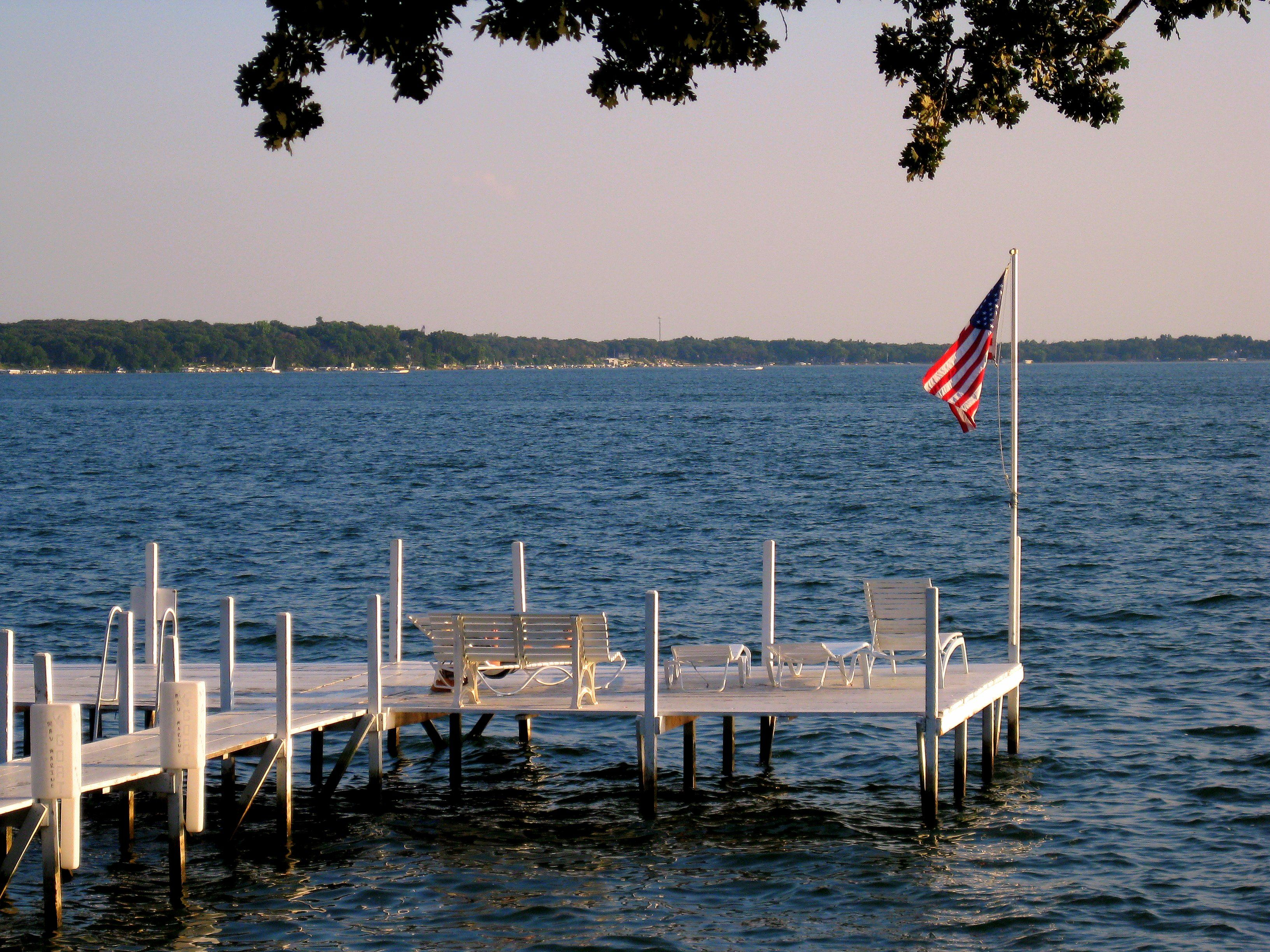 cabins okoboji rentals friday iowa pin lakes cabin and favorite dubuque lake