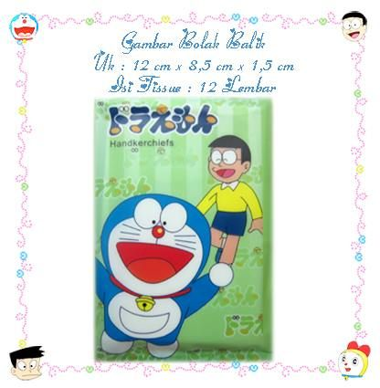 Tissue Wangi Doraemon Green Type2 (Rp 2.700,-)