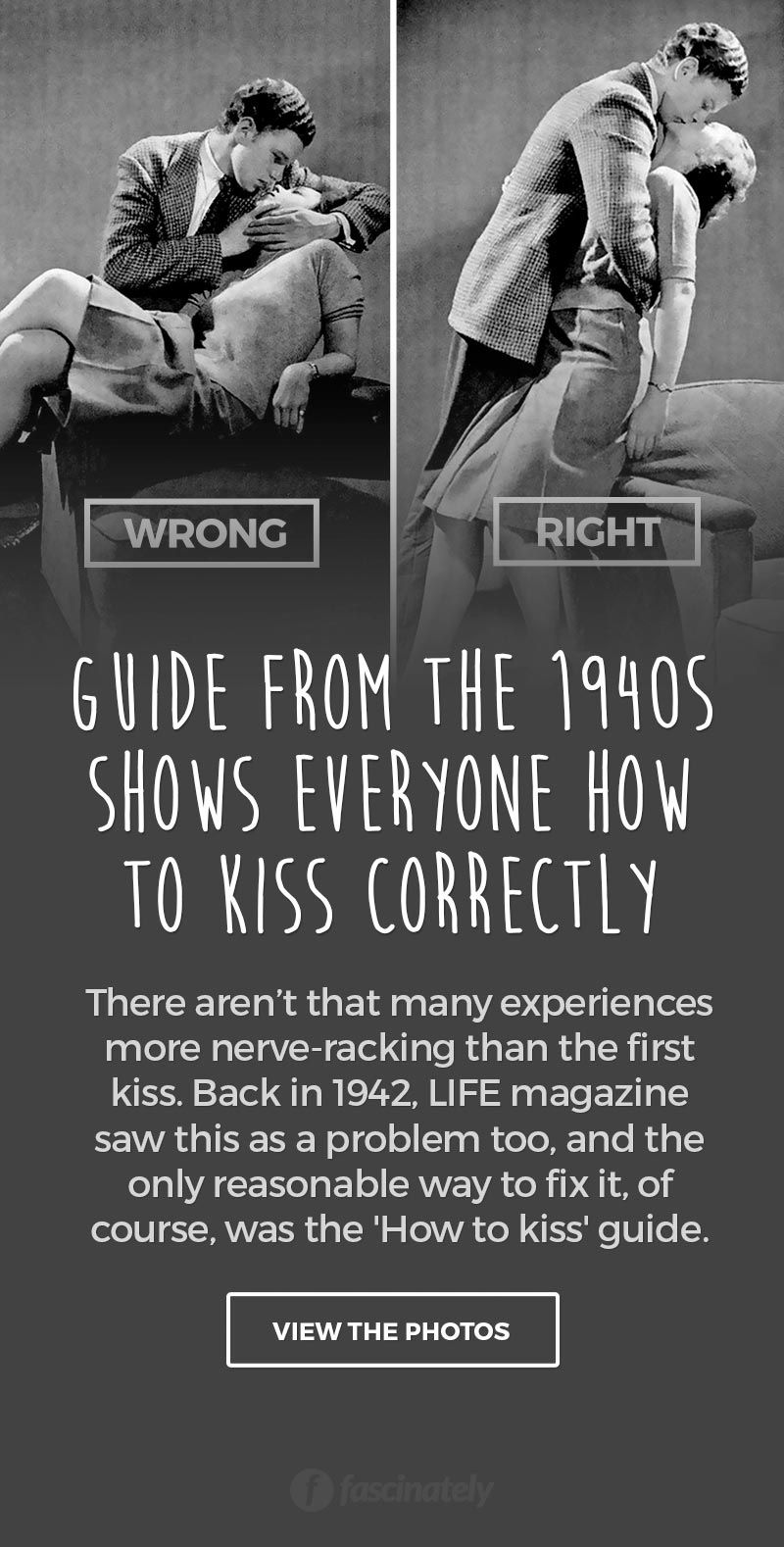 First kiss guide