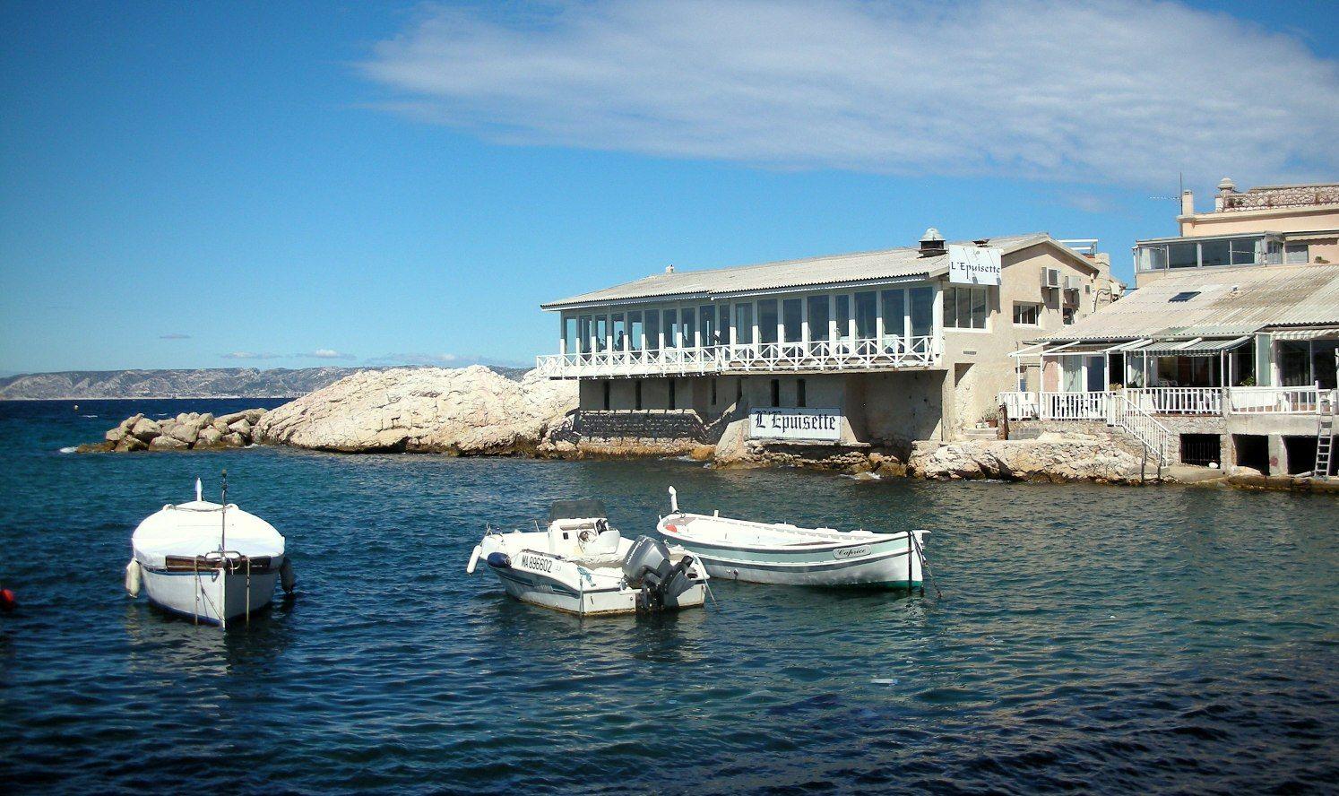 Restaurant L'Epuisette. Marseille.