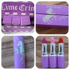 Lime Crime. Vegan & Cruelty Lipstick.