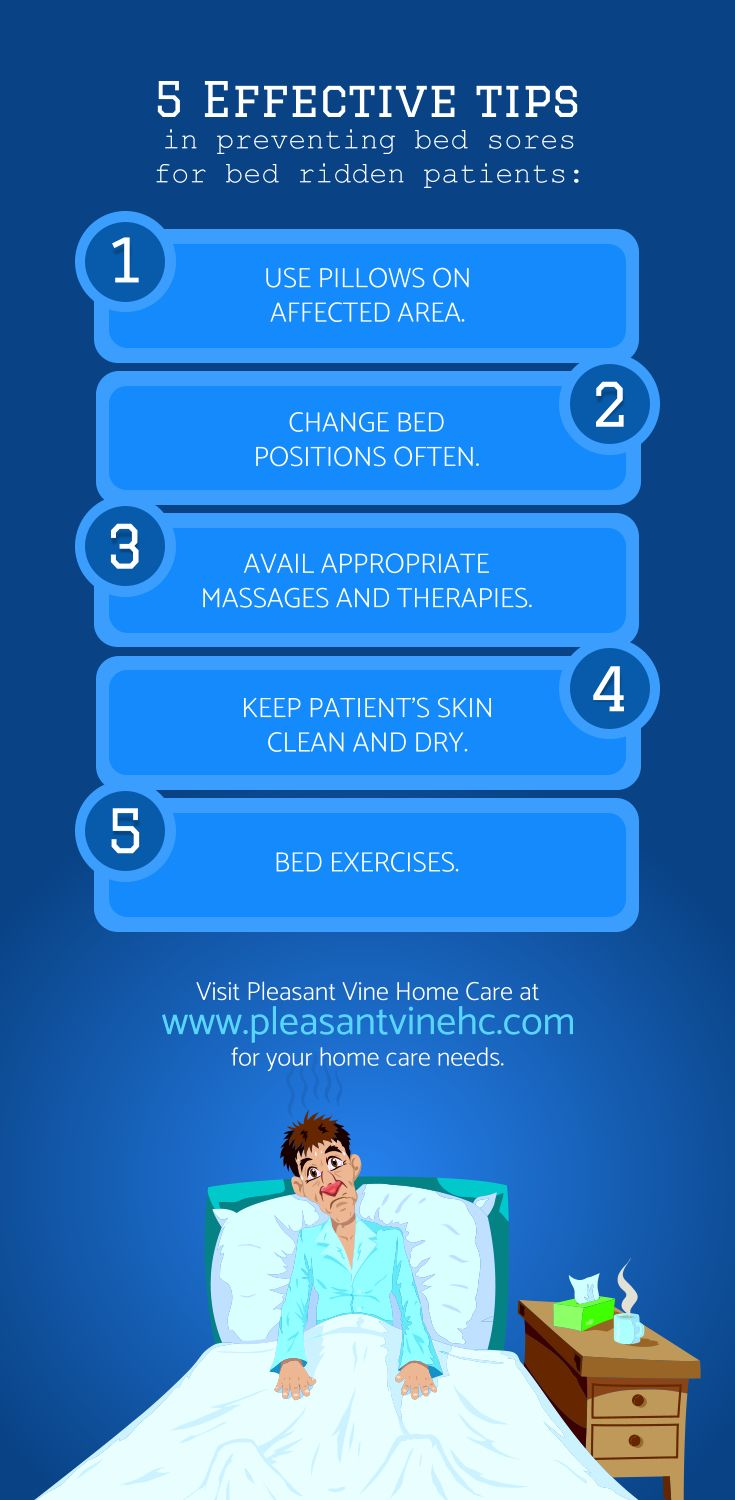 5 Effective Tips In Preventing Bed Sores For Bed Ridden Patients