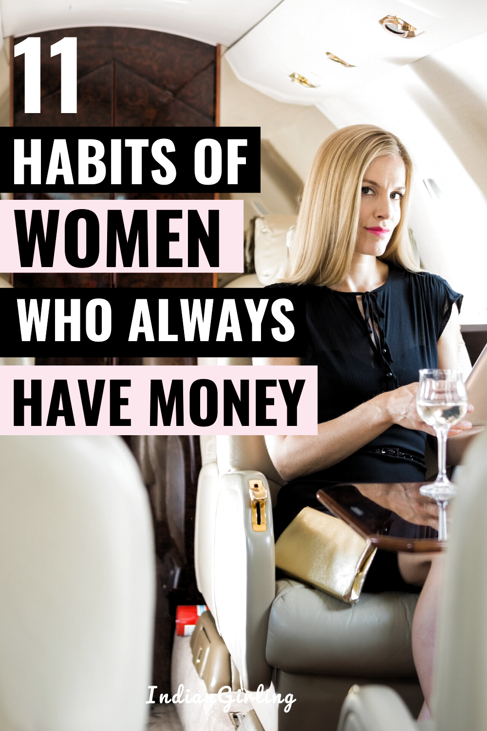 Ever wondered how rich women stay rich? Here are 11 financial habits of successful women who always have money! Emulate these money-making habits to generate successful results financially and always have more money than you need. Great personal finance and money-saving tips to help plan for your future! #financialhabits #budgetingtips #successfulwomen #buildwealth #moneymindset #girlboss