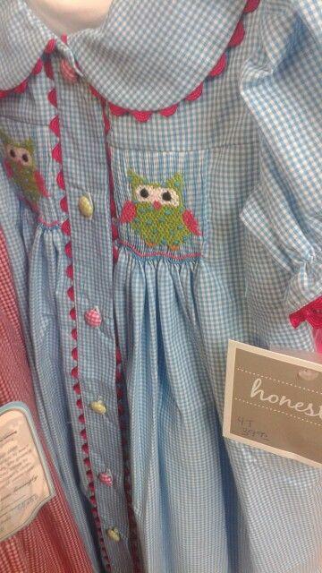 Love the owls, rick rack, buttons