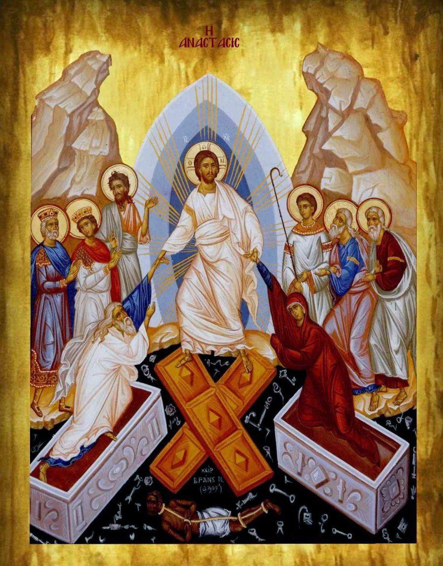 Ανάστασις ουν Χριστού η ημετέρα υπάρχει ανάστασις ...