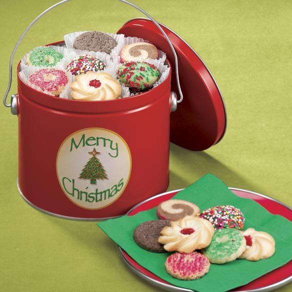 Merry Christmas Cookie Tin #Christmas Gift Ideas | Favorites ...