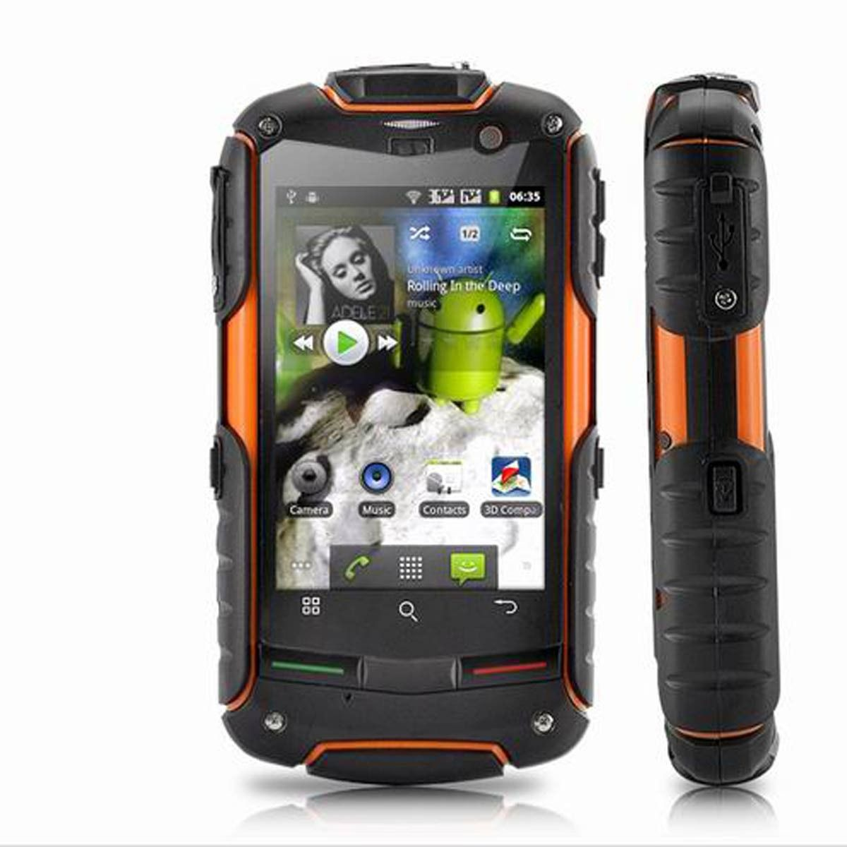 rugged phone style Google 搜尋 Waterproof phone, Android