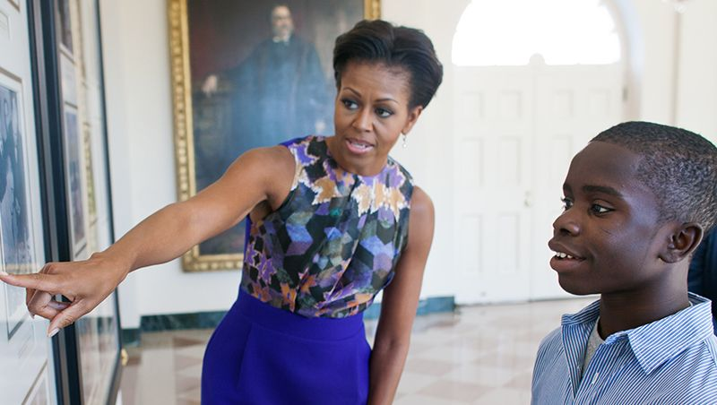 michelle obama role model essay First lady michelle obama's accomplishments are often overshadowed by her husband's successes but we dive into what mrs obama has done.