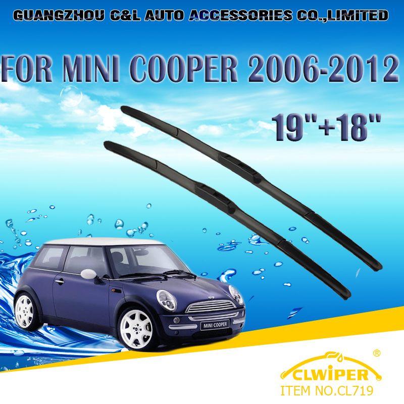 Wiper Blades For Bmw Mini Cooper 2006 2012 2007 2008 2009 2010 2011 Car Windscreen Windshield Wiper Blade 19 18 C Windscreen Wipers Nissan Tiida Kia Sportage