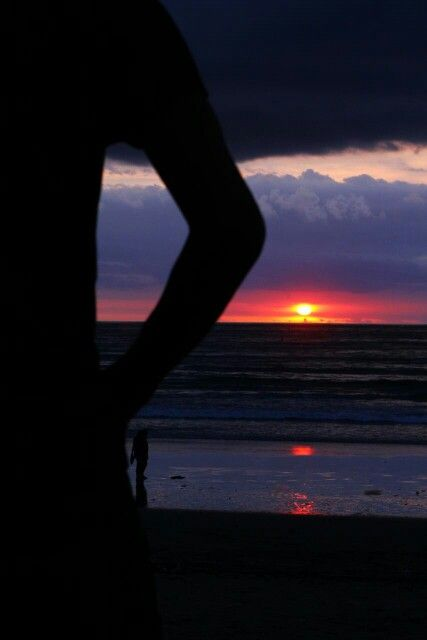 Sunset at Kuta, Bali, Indonesia