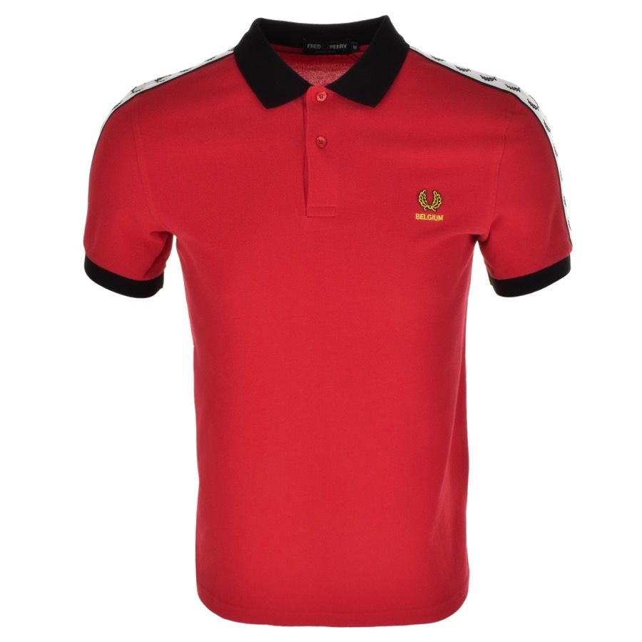 Shirt Polo At Belgium Menswear T Priced Perry RedMainline Fred XuOPTkZi