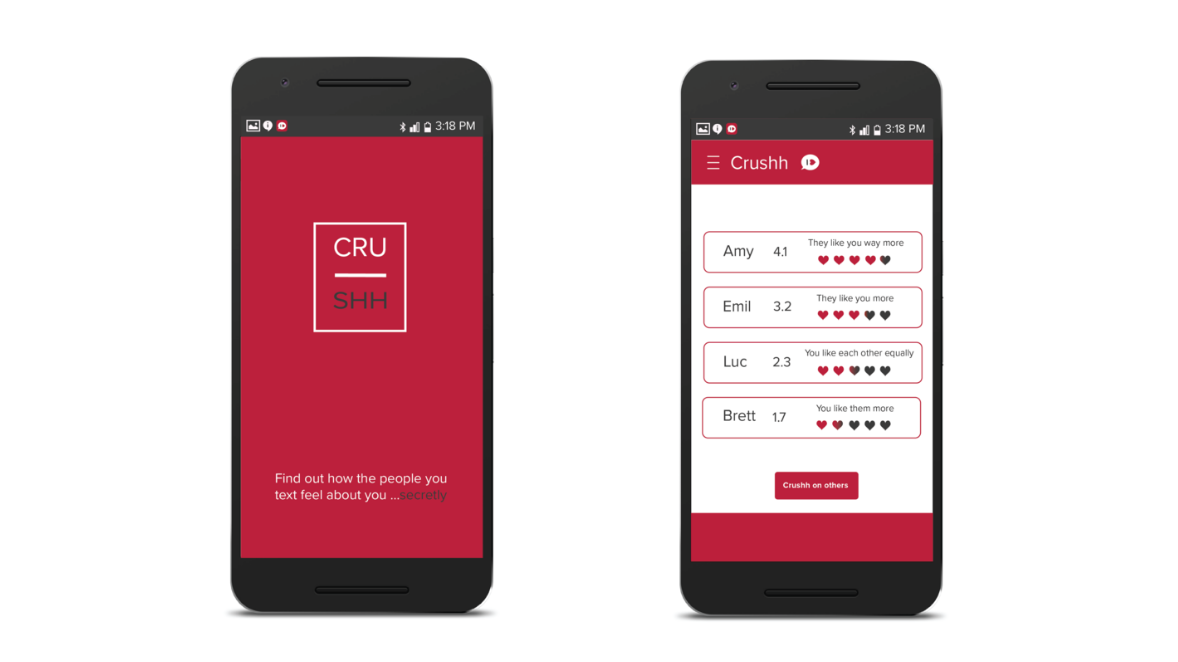 Crushh app lets you know how your crush feel about you