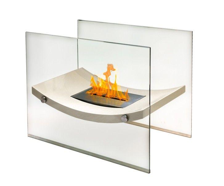 Broadway Freestanding Bio Ethanol Fireplace Anywhere Fireplace Tabletop Fireplaces Standing Fireplace Indoor Outdoor Fireplaces