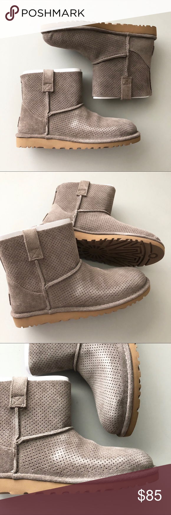5733d1325d1 UGG Classic Unlined Mini Perforated Boot NWT | My Posh Picks ...