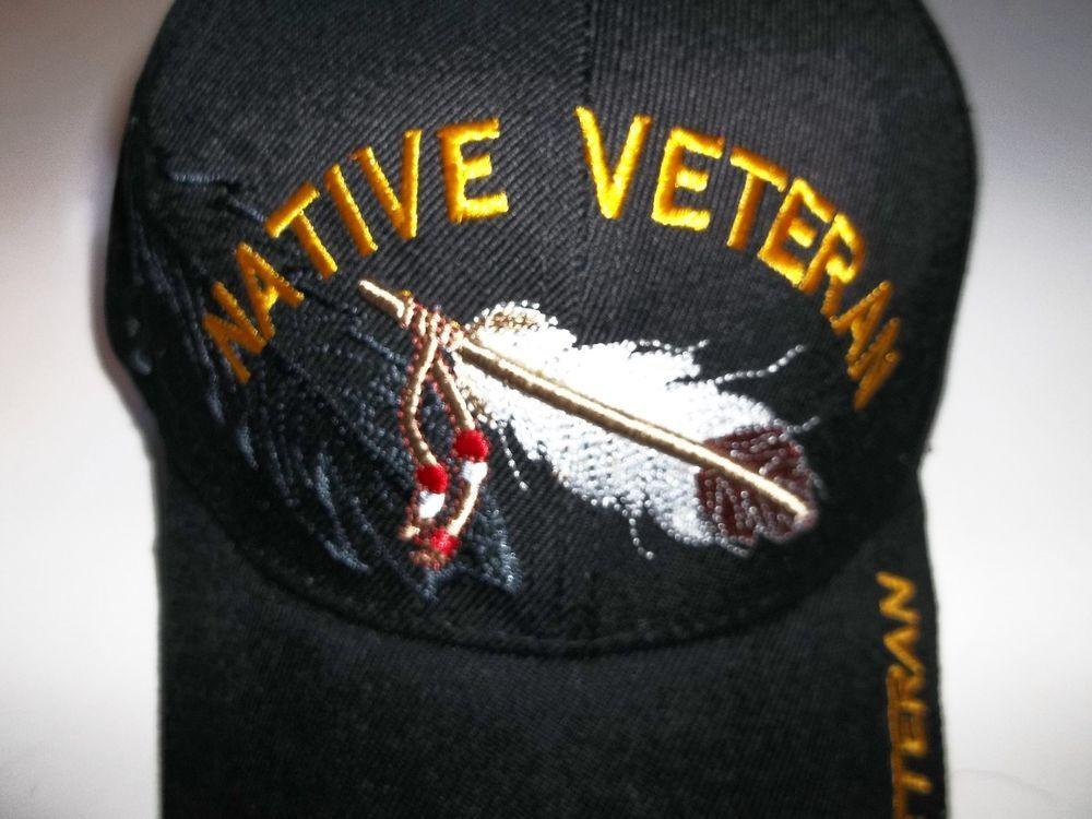 5767f9f5c06 Native American Print Native Veteran Feather Native Pride Hat  NativePride   BaseballCap