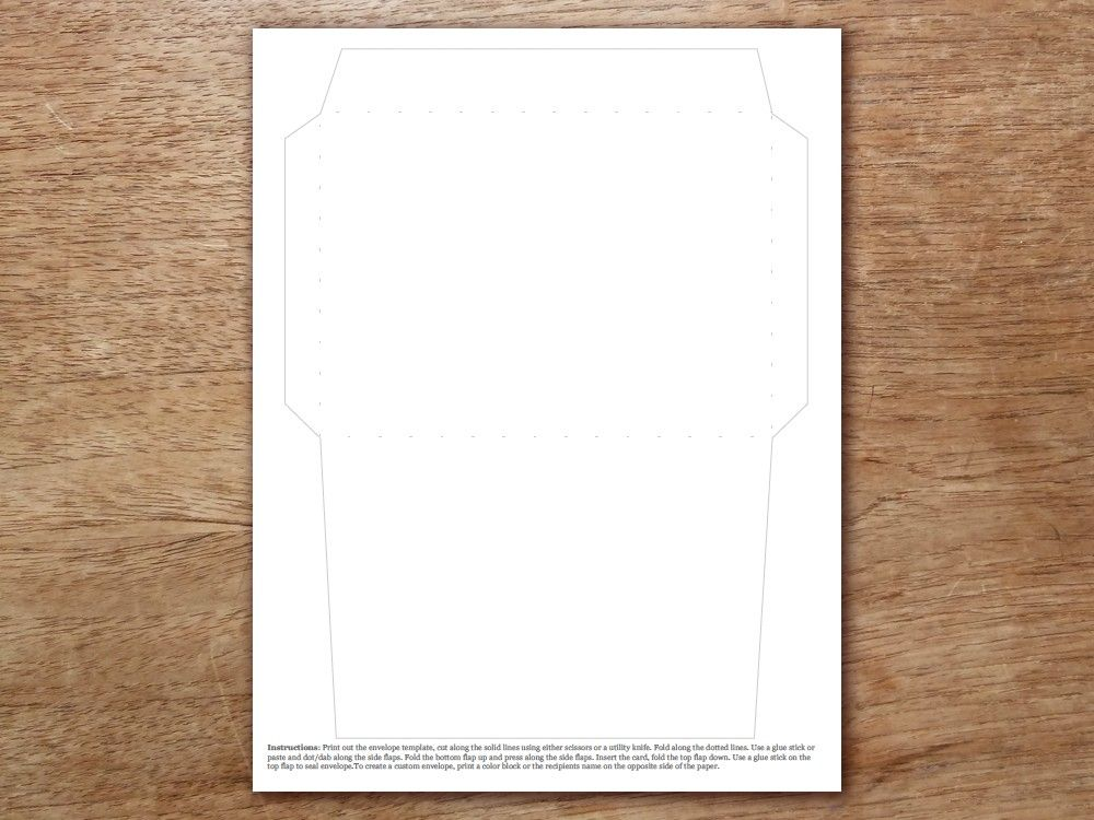Free Printable Envelope Template A6 Free Printable Envelopes Envelope Template Printable Envelope