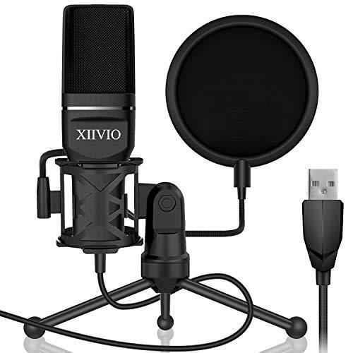Usb Gaming Condenser Microphone Xiivio Plug Play Computer Pc Microphone Sale Instrumentstogo Com Microphone Gaming Microphone Usb