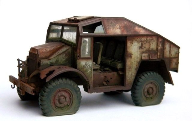 Ford Fat by armorguy Modelers Social Club Forum | Rusted Out