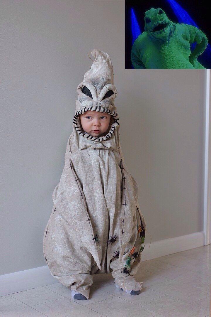 Oogie Boogie Nightmare Before Christmas Fancy Dress Up Halloween Child Costume