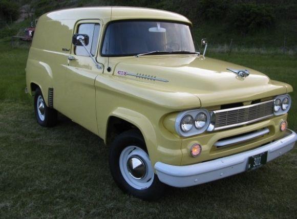 1961 Dodge Panel Van Very Rare For Sale 1961 Dodge Power Wagon
