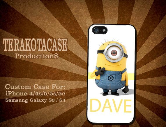 Minion Camera Case : Minion hard palstic for iphone and samsung galaxy by terakotacases