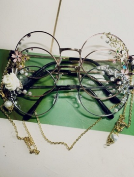 224ee5ea265c Tips: *Please double check above size and consider your measurements before  ordering, thank you ^_^ Harajuku lolita cosplay round glasses