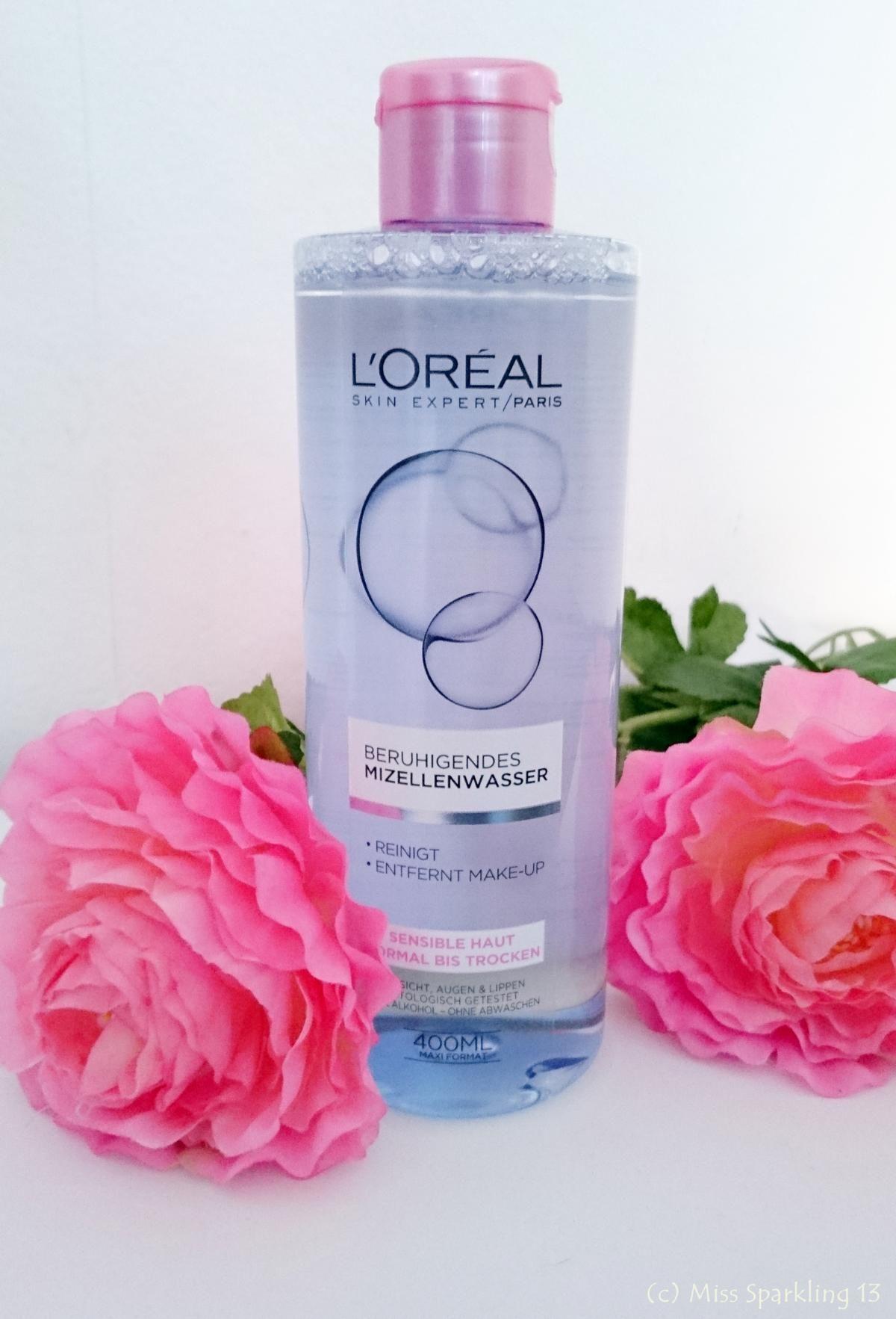 Beruhigendes Mizellenwasser von L'Oréal