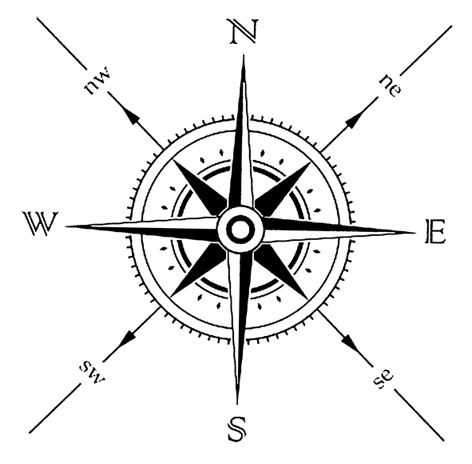 Rosavientos Png 472 464 Compass Tattoo Wind Rose Simple Compass Tattoo