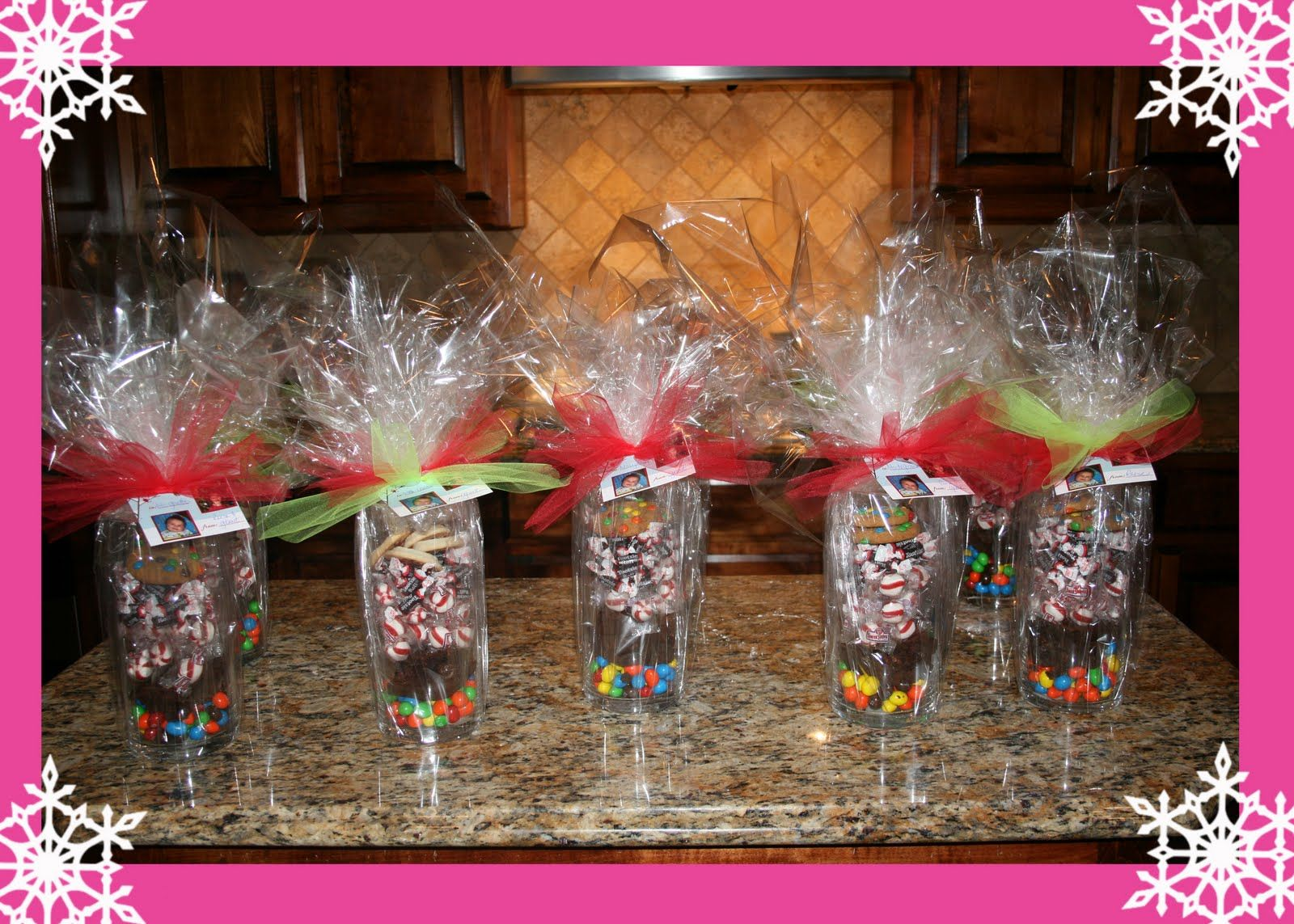 Cool Unique Gifts This Is A Cute Idea Hard Candy Mints In A Tumbler Easy Diy Christmas Decorations Tissureus