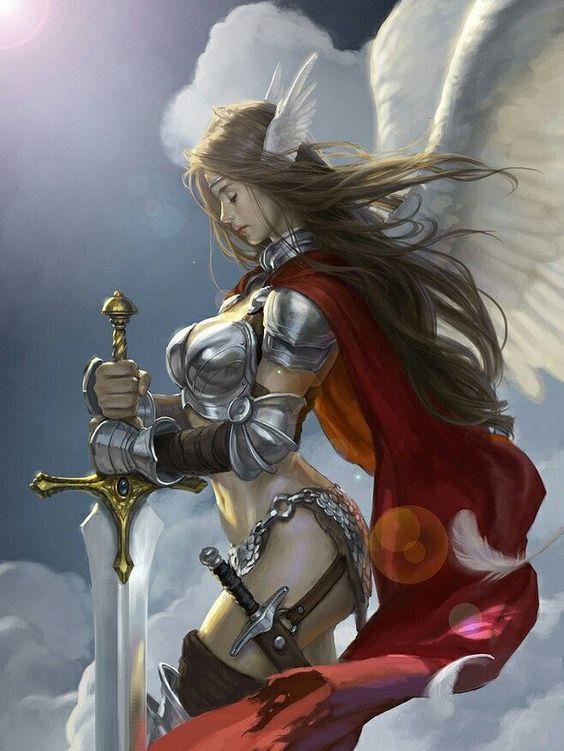 Angel Warrior 01