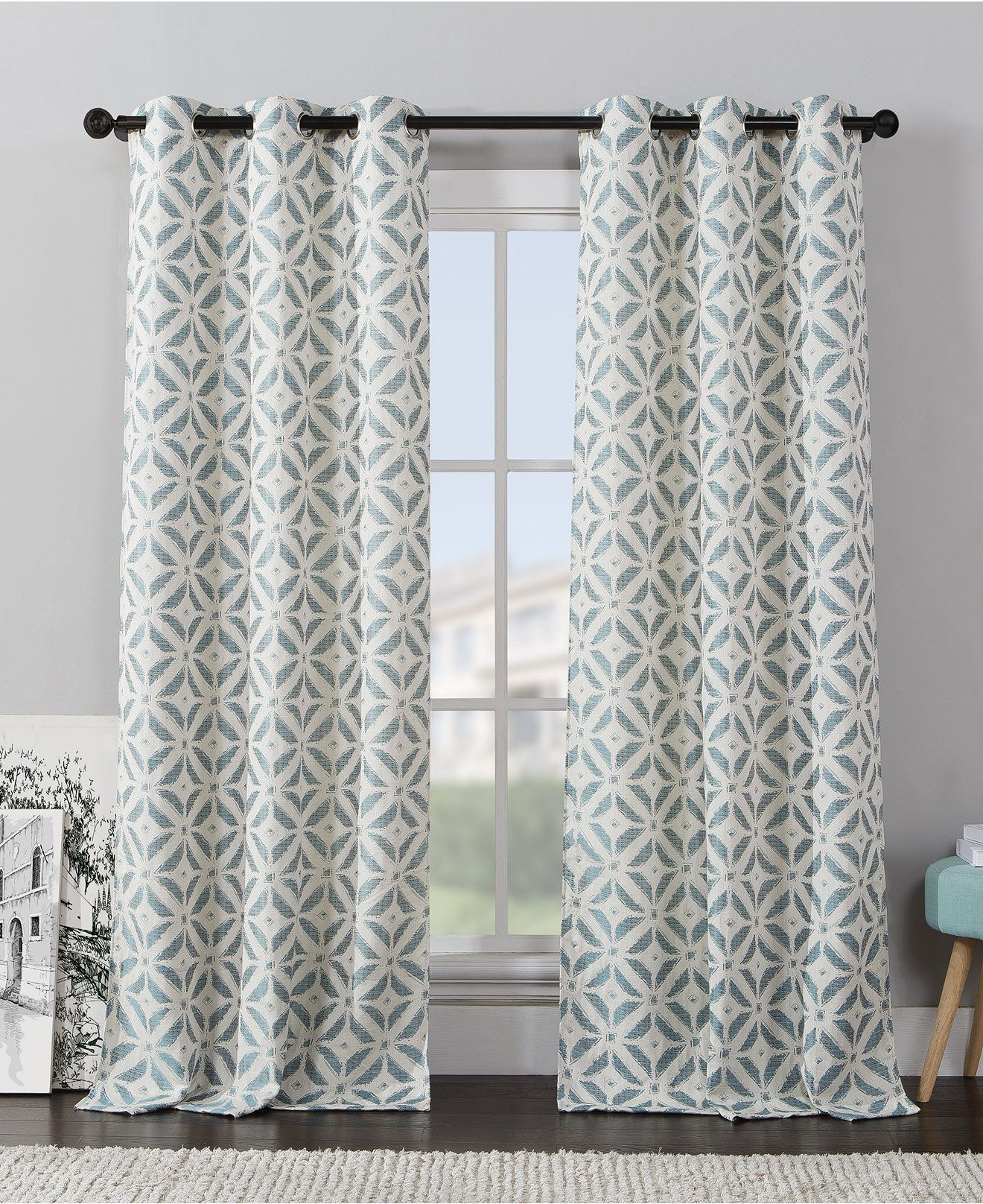 Erlene Window Treatments Murano 26 By 84 Panel Macy S