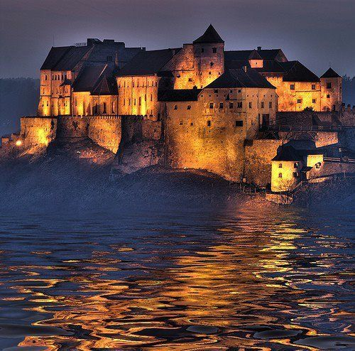 A Room With A View · The Burghausen Castle in Burghausen, Upper Bavaria is the longest castle complex in Europe (1,043 m).