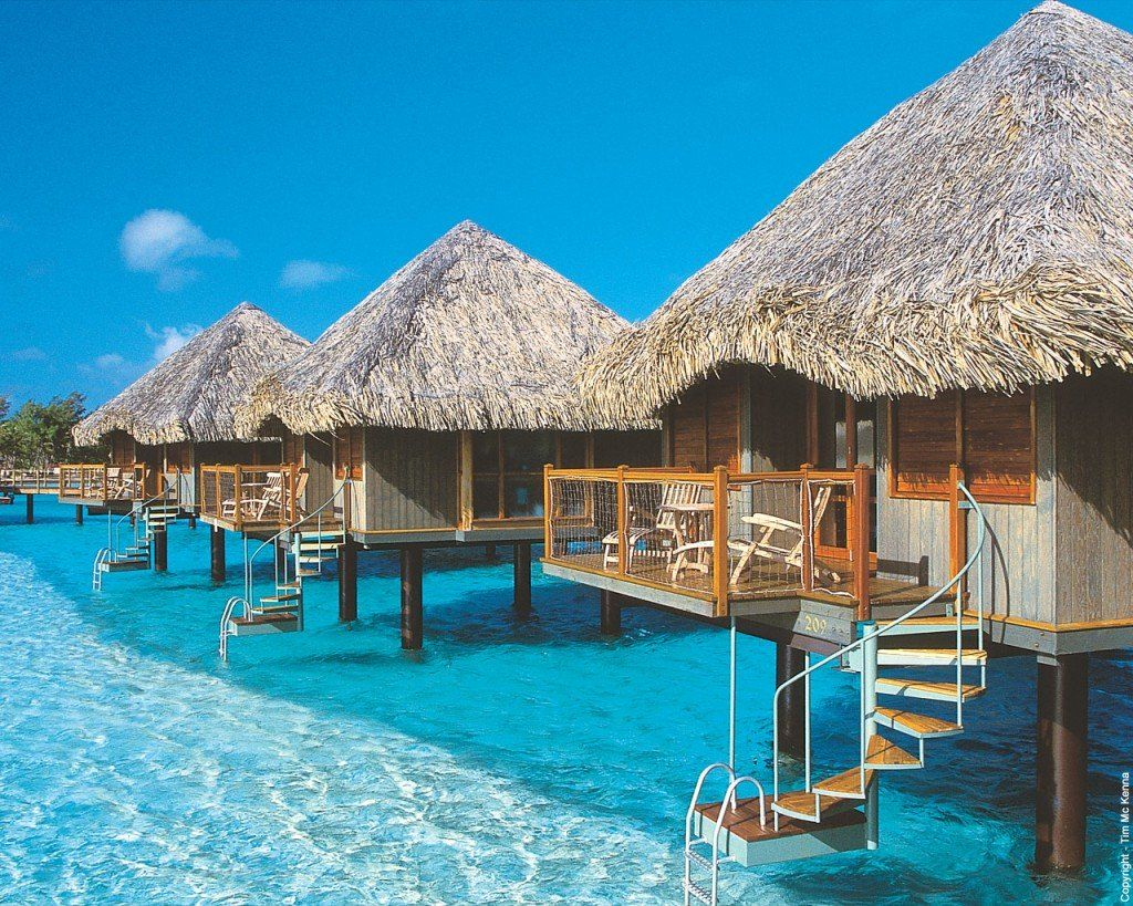 Luxurious Le Meridien Bora Bora Resort With images