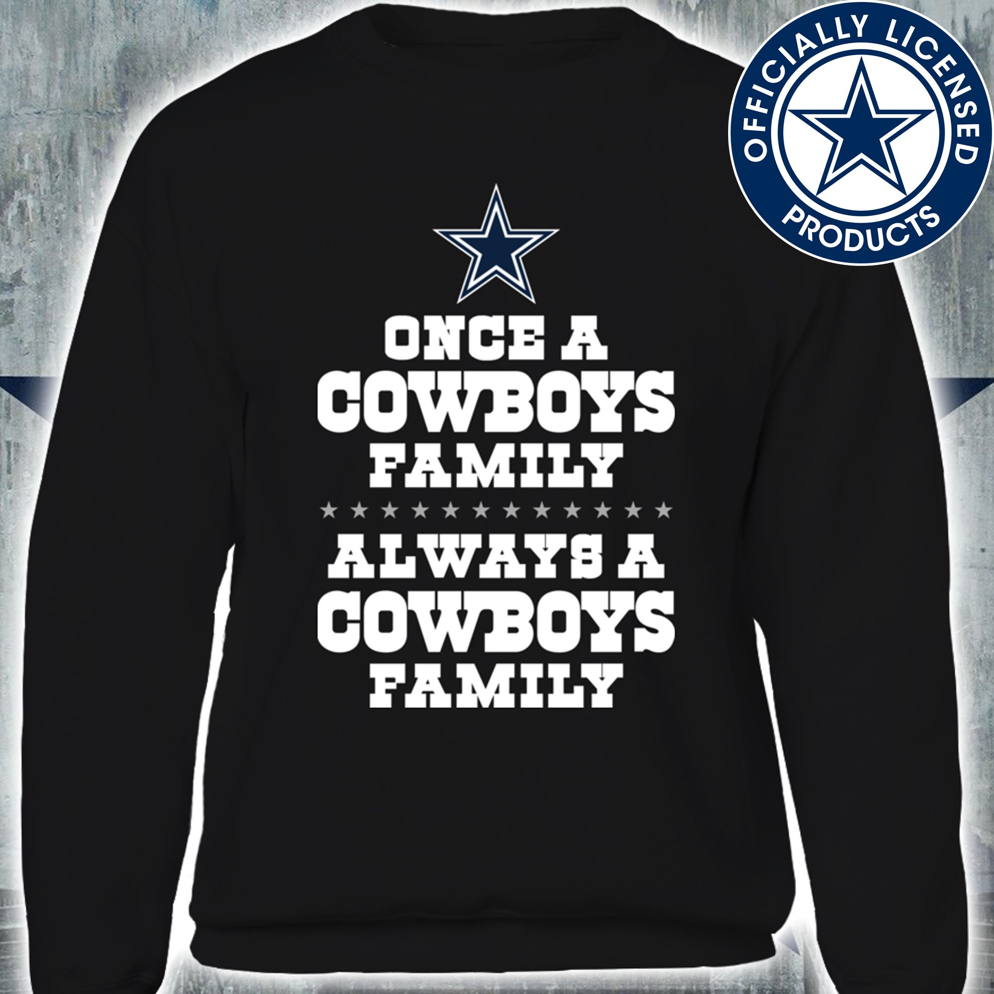 detailed look b6ae1 7e2e5 Once a Cowboys Family Always a Cowboys Family | Dallas ...