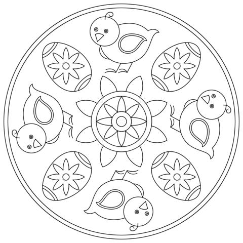 Pin On A Mandala