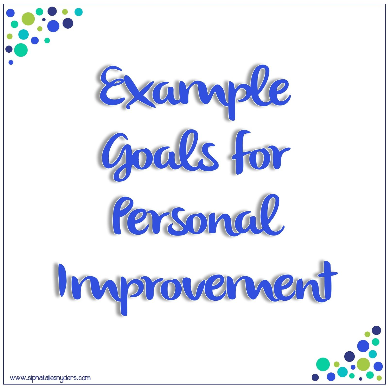 Setting Professional Goals As An Slp With Images