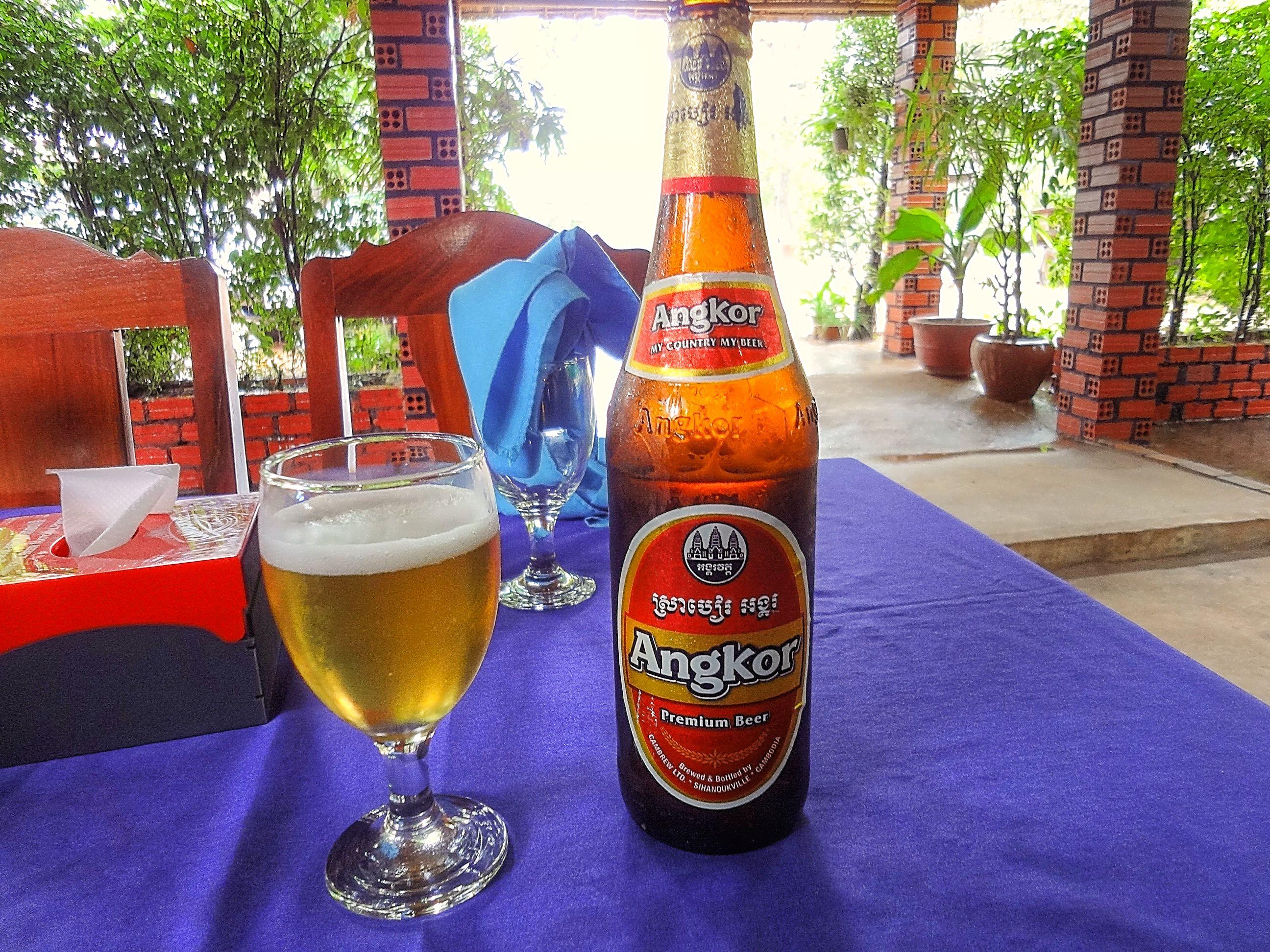 Angkor Beer ,Siem Reap,Cambodia