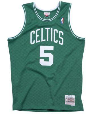 82cfcb0186b7 Mitchell   Ness Men s Kevin Garnett Boston Celtics Hardwood Classic  Swingman Jersey - Green White XXL