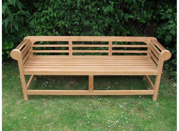 Low Back Lutyens Bench 150
