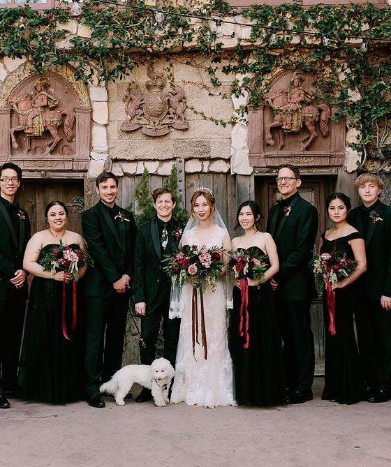 A Moody Magical Harry Potter Themed Wedding Harry Potter Wedding Theme Wedding Harry Potter Wedding