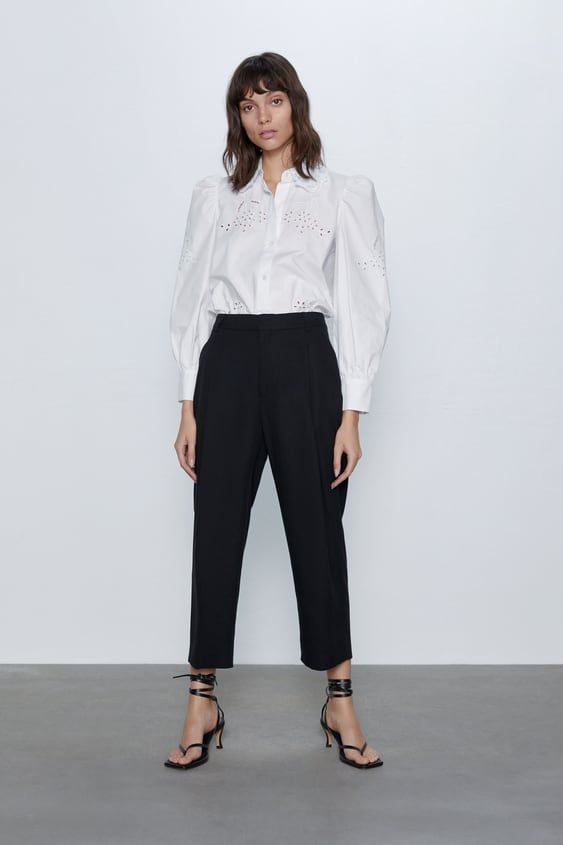 Photo of Flowy pleated pants